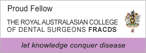 Fellow of the Royal Australasian College of Dental Surgeons